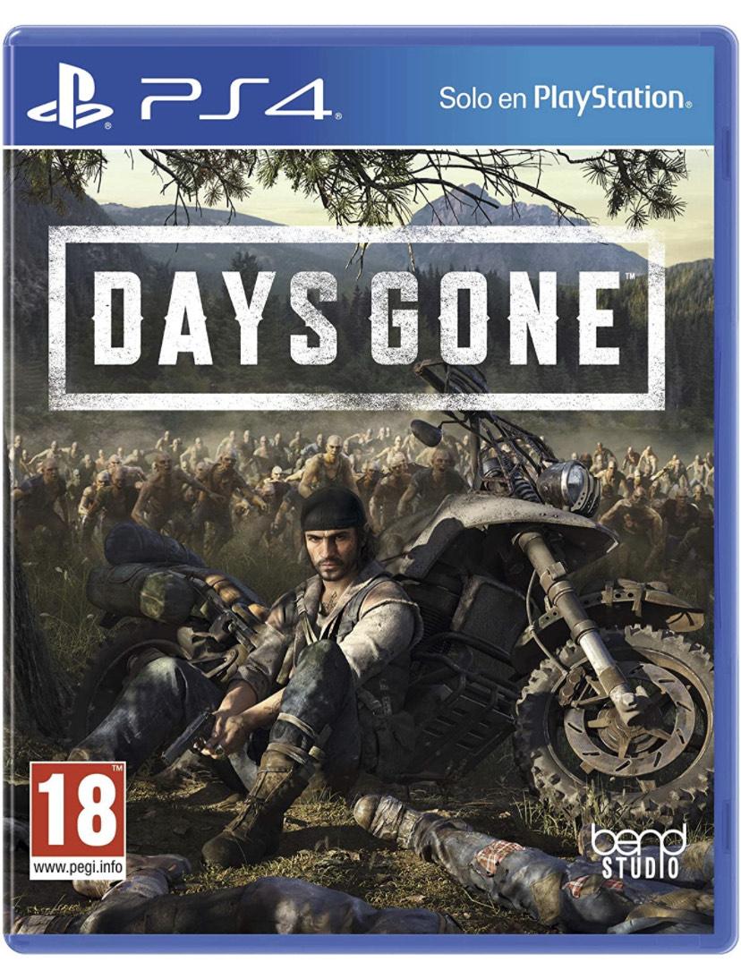 Days Gone PS4/PS5 por solo 16€ (Físico - Amazon)