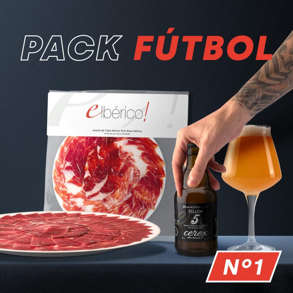 Reco-Lotes Futboleros con cerveza Cerex Pilsen ó Vino Ecológico Viñas del Cámbrico