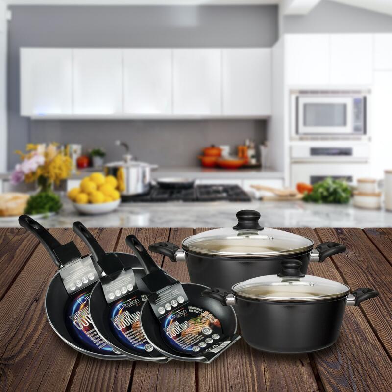 Batería de cocina Italian Desing