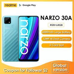 Narzo 30A versión Global Smartphone 4GB 64GB