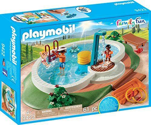 Playmobil- Family Fun Piscina con Accesorios