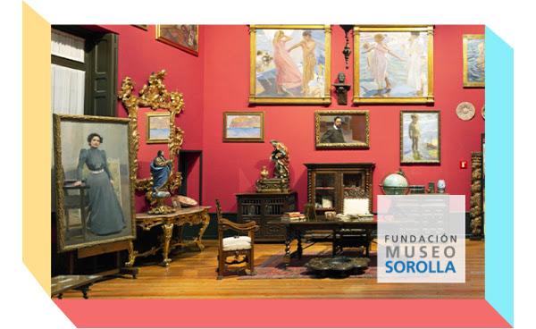 10% de descuento en la tienda del Museo Sorolla (presencial)