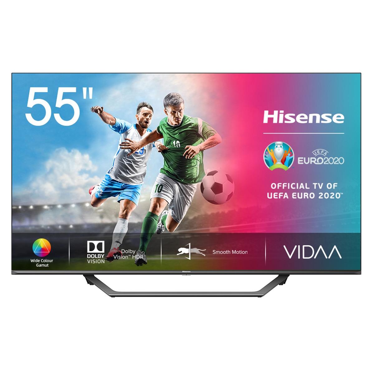 "TV Hisense 55"" UHD 4K Smart TV HDR10+ Alexa integrado"