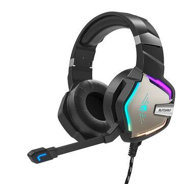 BlitzWolf® BW-GH1 Pro Gaming Headset 7.1 LED RGB