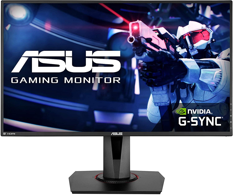 """Monitor Asus 27 """" FHD, 0,5 ms, 165 Hz , G-Sync , DisplayPort, Altavoces incorporados ( Precio con Newsletter)"""