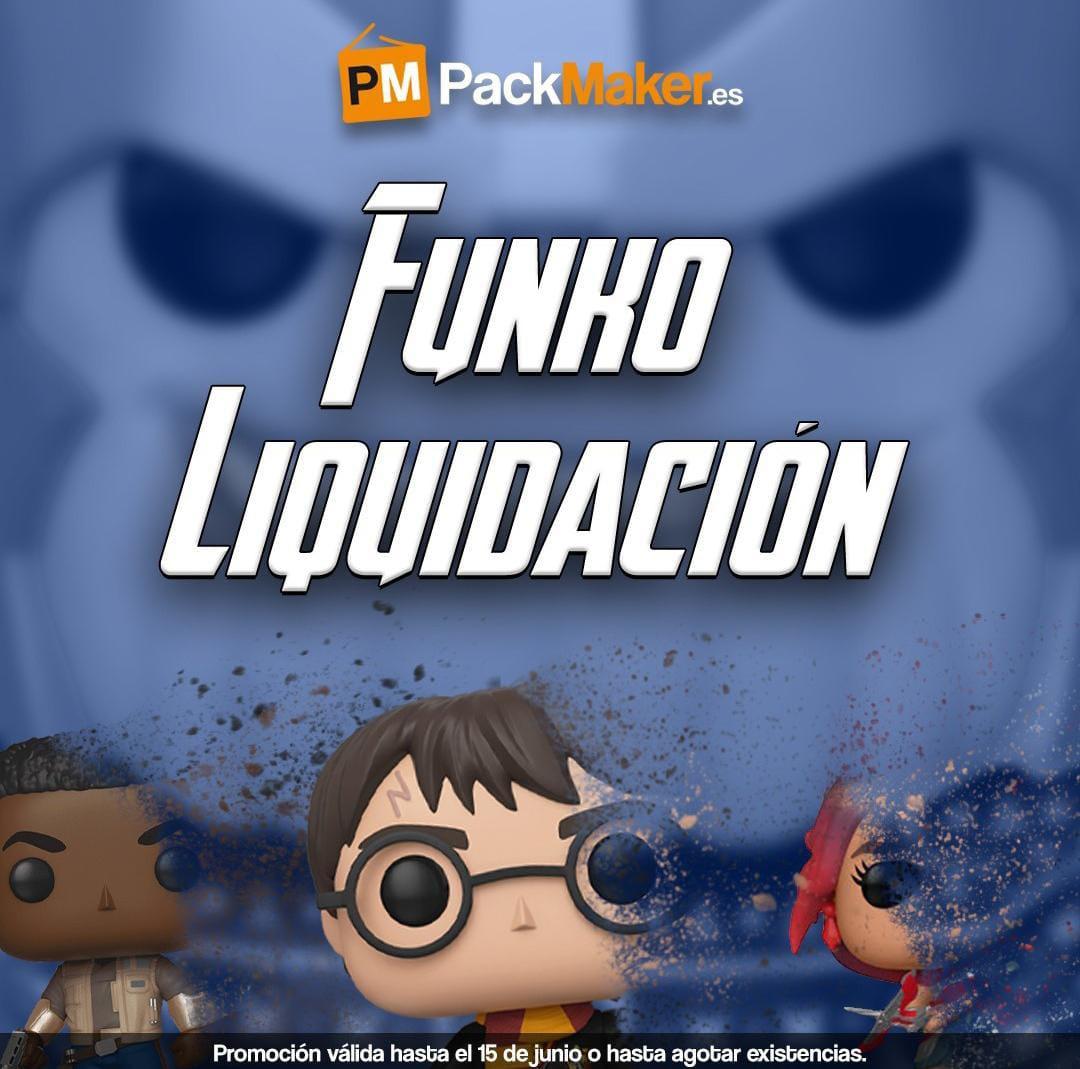 Funko Liquidación en Pack Maker