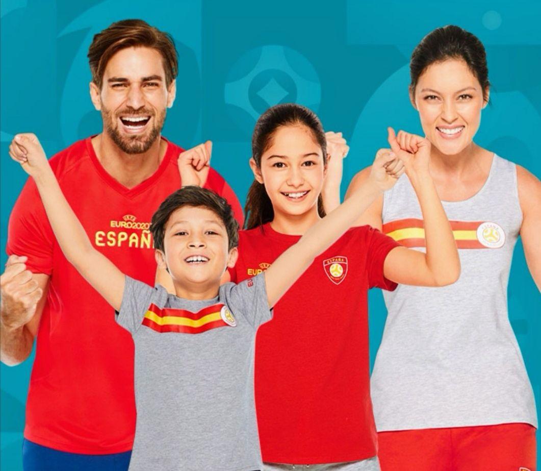 Selección de ropa deportiva UEFA EURO 2020, con licencia oficial!
