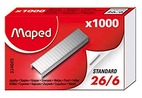 1000x Grapas 26/6 - Maped
