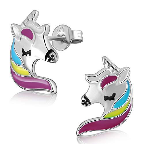 Pendientes unicornio, de plata de ley 925 por 4,39€