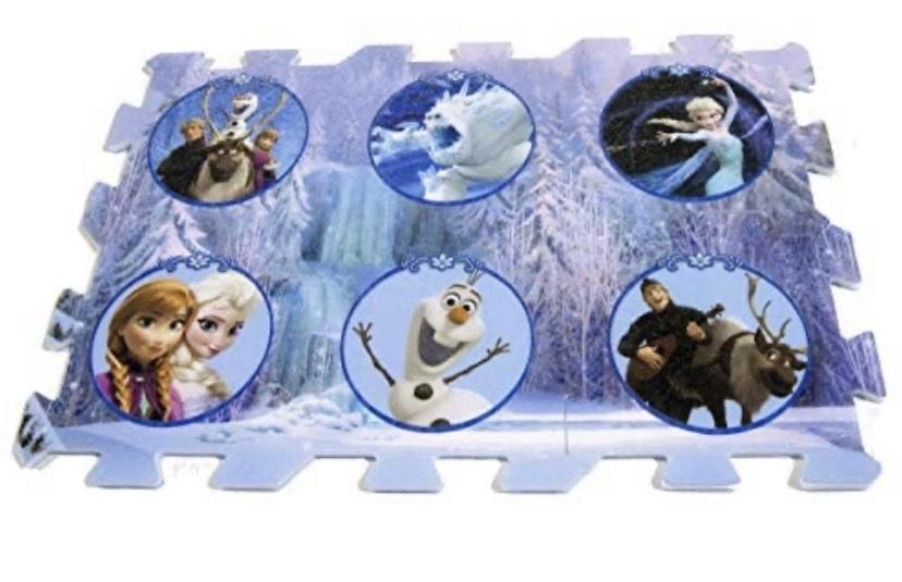 ABC - Alfombra Frozen (60 x 90 cm)