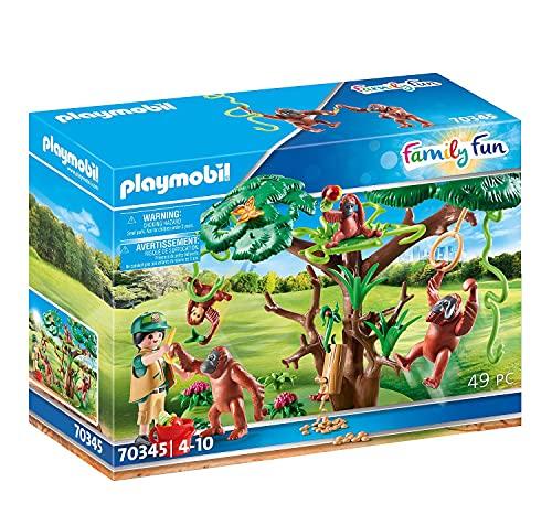Playmobil Orangutanes con Árbol