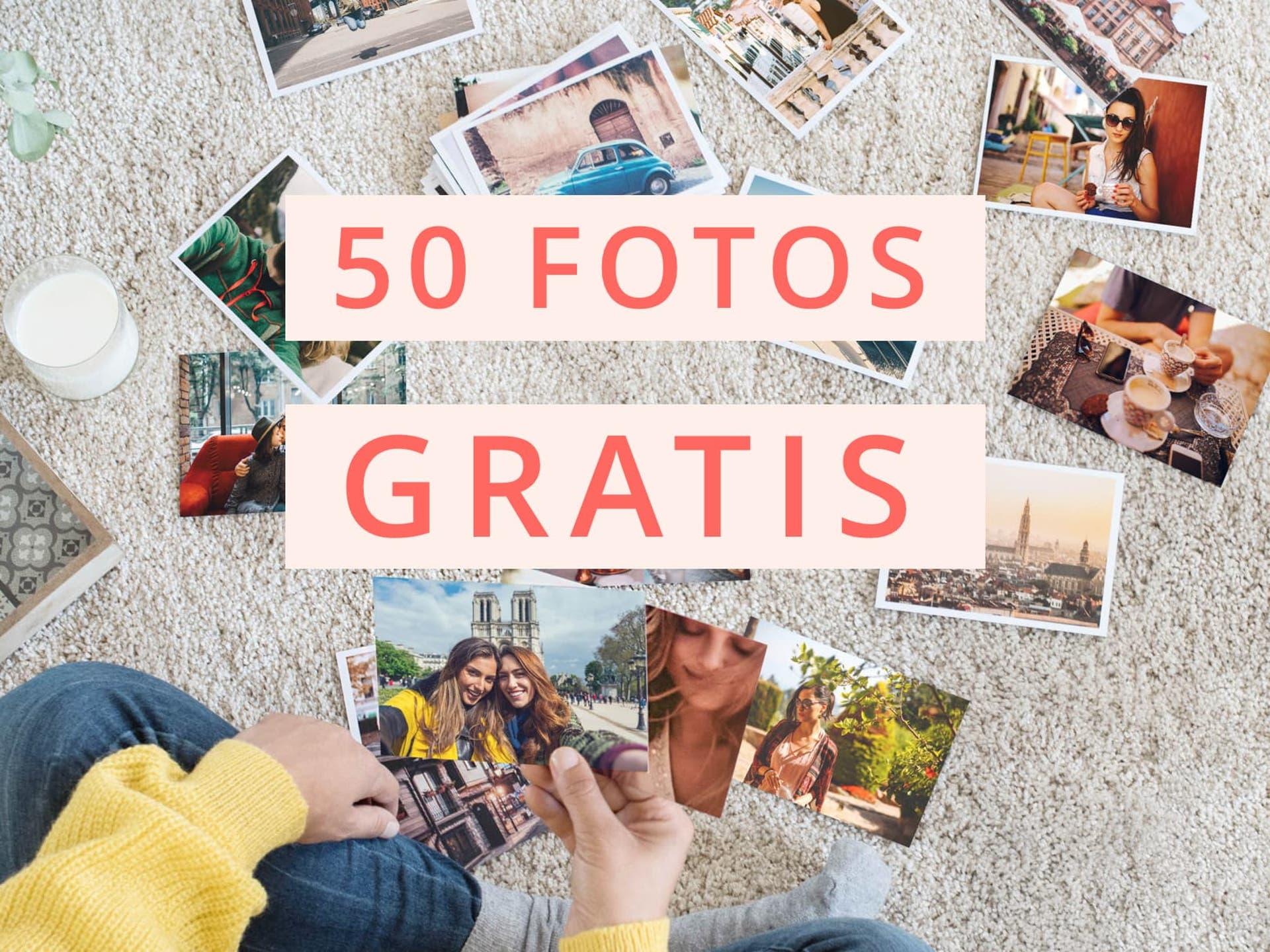50 Fotos Gratis desde la app
