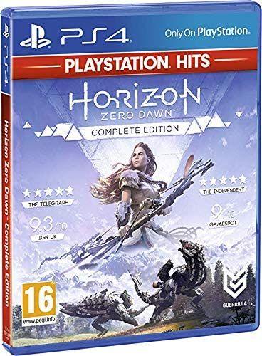 PS4 Horizon Zero Dawn Complete Edition - Importación Inglesa - En español - Reaco muy bueno