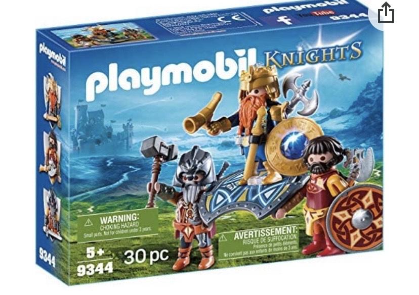 Playmobil- Rey de los Enanos