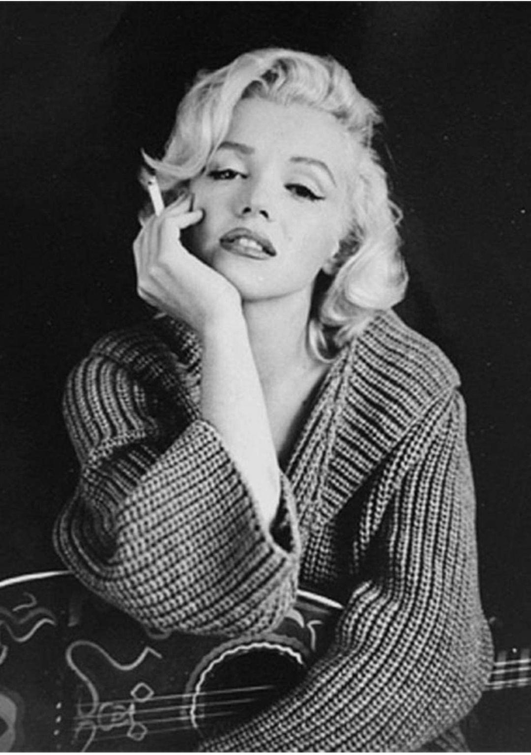 Pintura de Diamantes 5D Marilyn Monroe con Números de Punto de Cruz