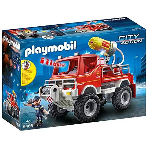 PLAYMOBIL City Action Todoterreno con Efectos de Luz y Sonido