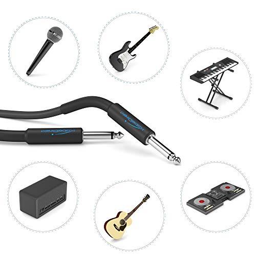 Cable para Instrumentos/Cable para Guitarra Mono, de 6,3mm – 3M. Por 4,79€