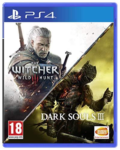 The Witcher 3 Wild Hunt + Dark Souls III PS4 (Amazon)