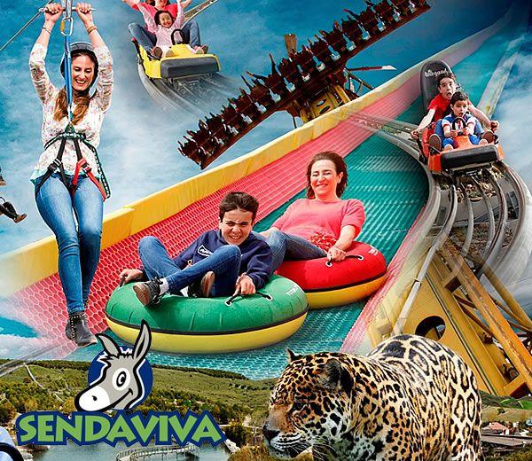 Descubre la Naturaleza y animales en el Parque Senda Viva en Navarra con Entradas + Noches de hotel 3* desde solo 46€ (PxPm2)