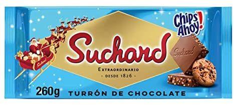 Turrón Suchard con Chips Ahoy
