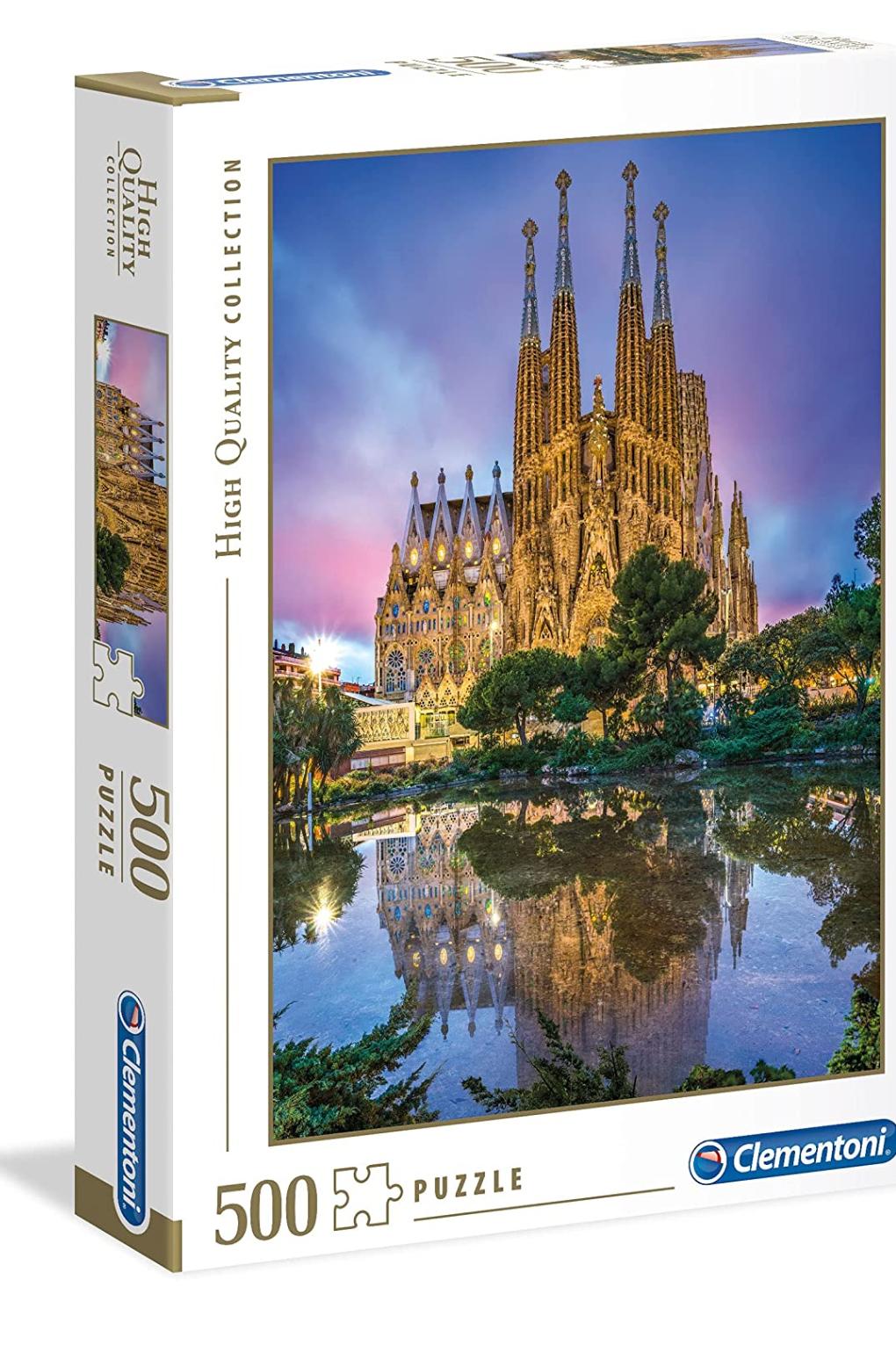 Puzzle Barcelona, 500 piezas