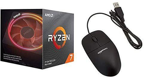 AMD RYZEN 3700X + ratón con 3 botones