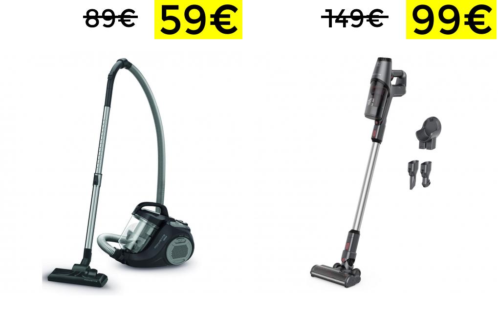Aspiradoras Rowenta desde 59€