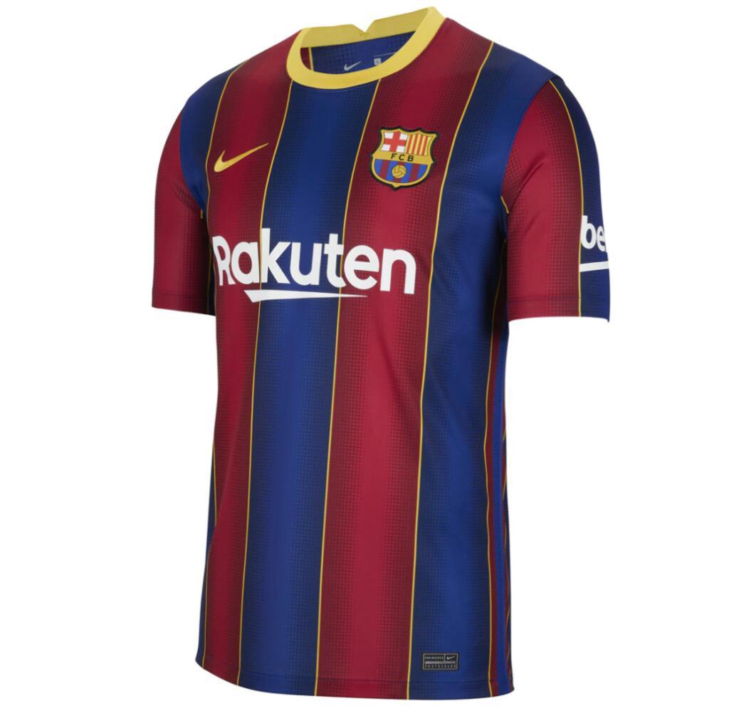 Camiseta de hombre 1ª equipación FC Barcelona 2020-2021 Breathe Stadium Nike