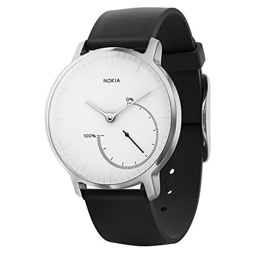 Nokia Steel - Reloj con seguimiento de actividad y sueño, blanco