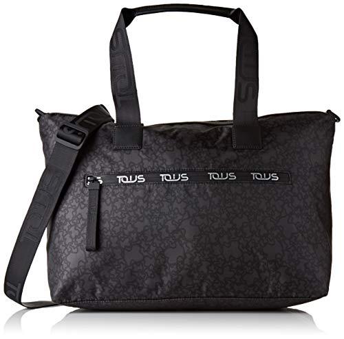 bolsa de mano tous color negro, mínimo historico
