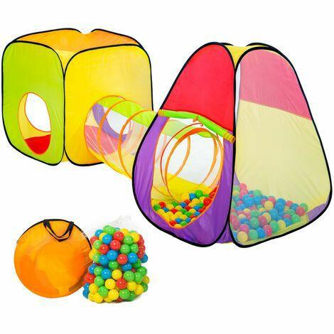 Parque infantil con 200 bolas de colores