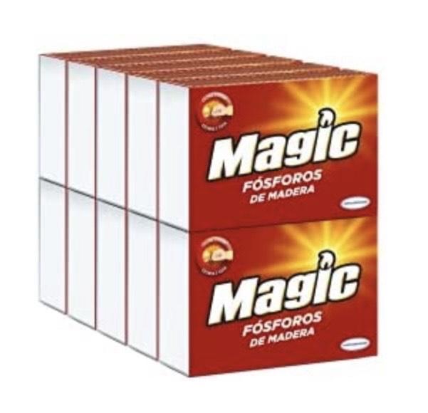 Pack de 10 cajas de Magic Cerillas Tamaño Fumador