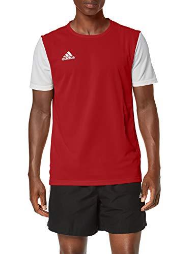 Camiseta Adidas Roja y Blanca Talla XXL