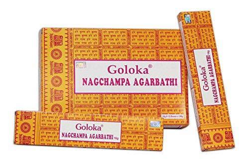 GOLOKA Juego de Varillas de Incienso, 1 pack, 16 g (Paquete de 12)