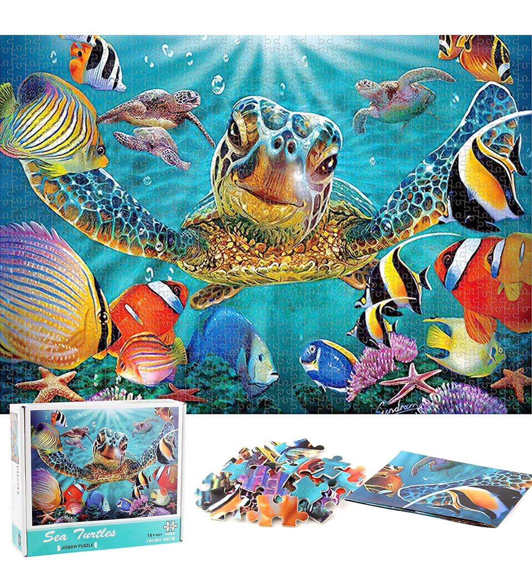 Puzzle 1000 piezas Mundo Animal
