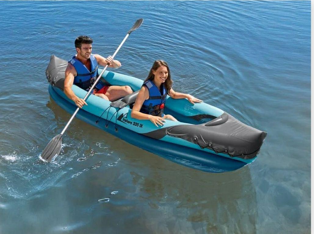 Kayak biplaza con remo