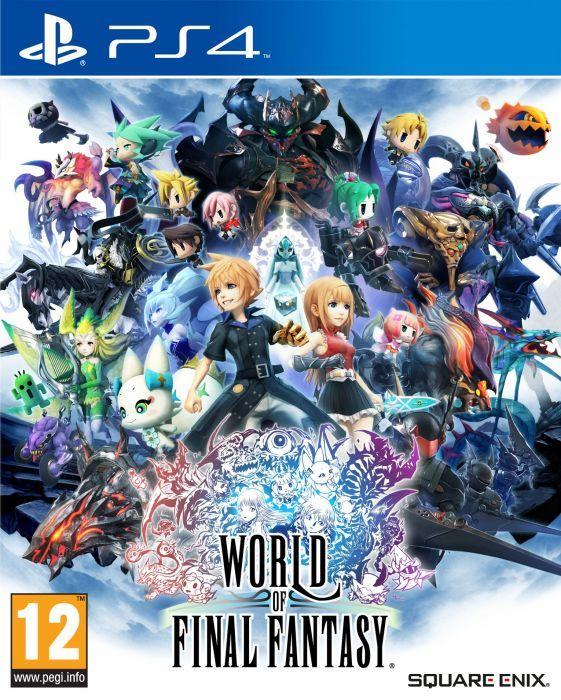 World of Final fantasy (PS4) [Físico]