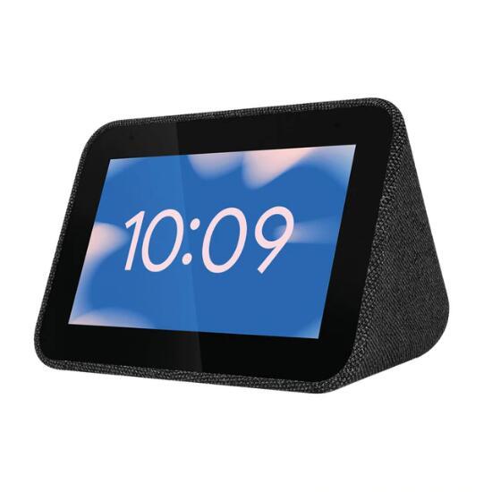 Pantalla inteligente Lenovo Smart Clock Negro con Asistente de Google