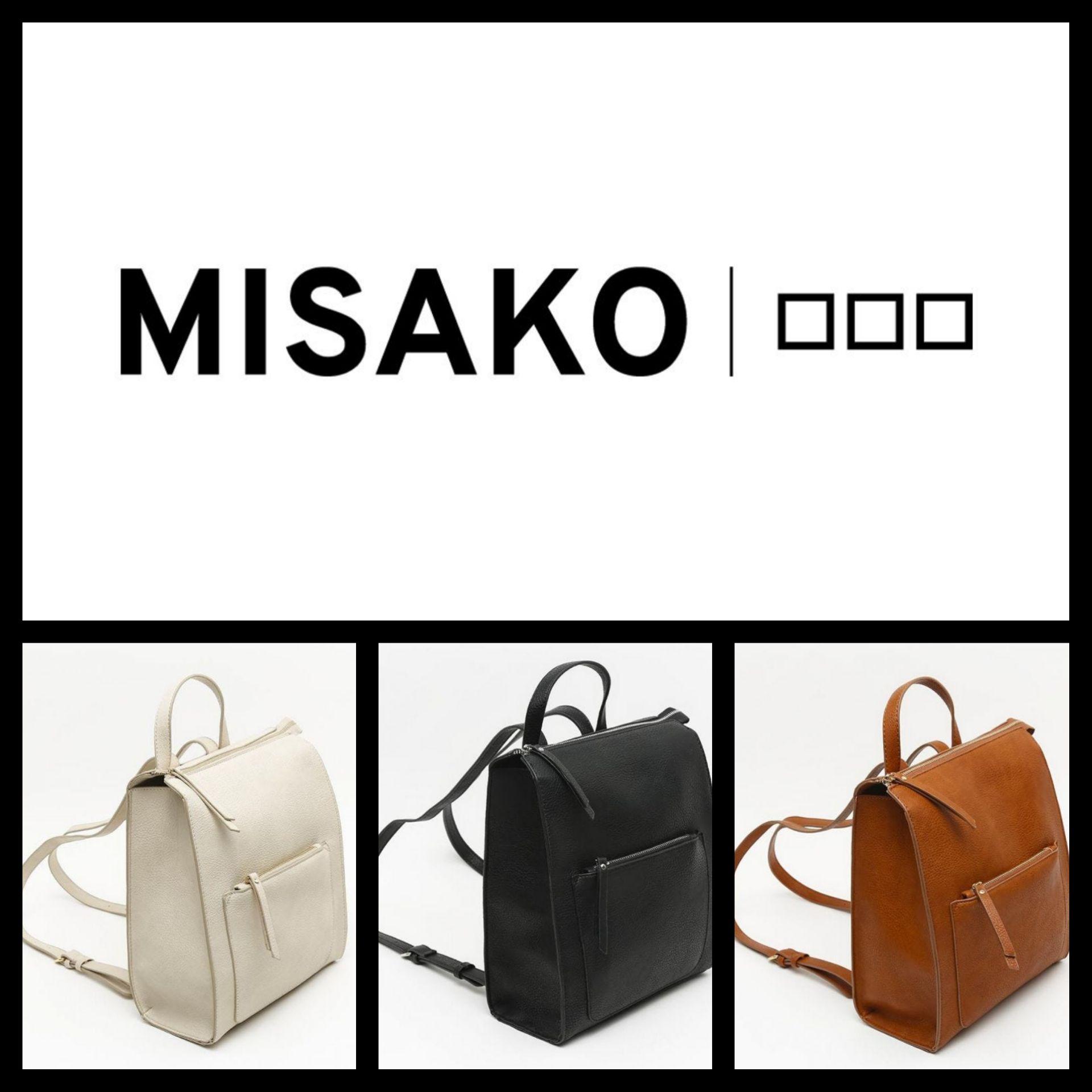 Mochila Misako por 7,80€ (3 Colores a elegir)