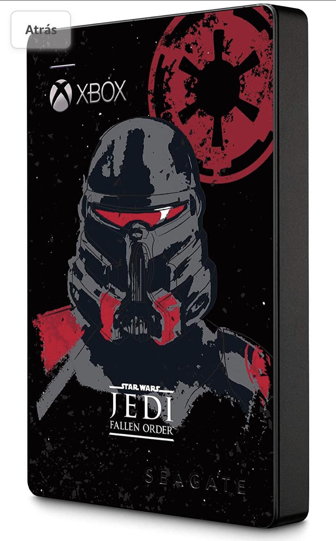 Disco duro externo Star Wars Jedi Xbox 2TB Seagate STEA2000426