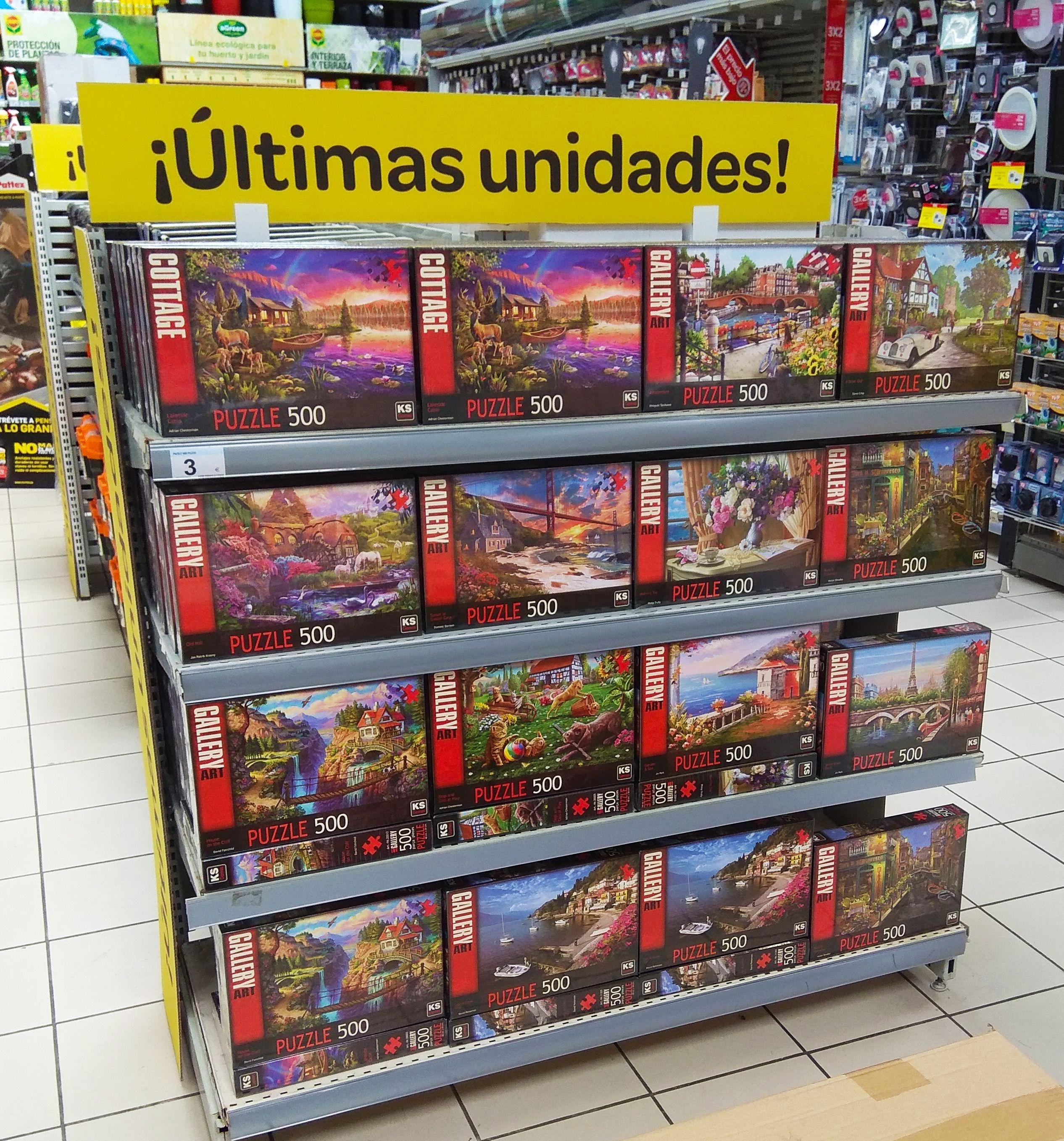Puzzle 500 piezas Gallery Art