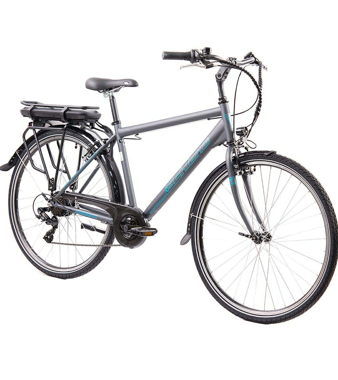 Bicicleta eléctrica marca F. lli Schiano.