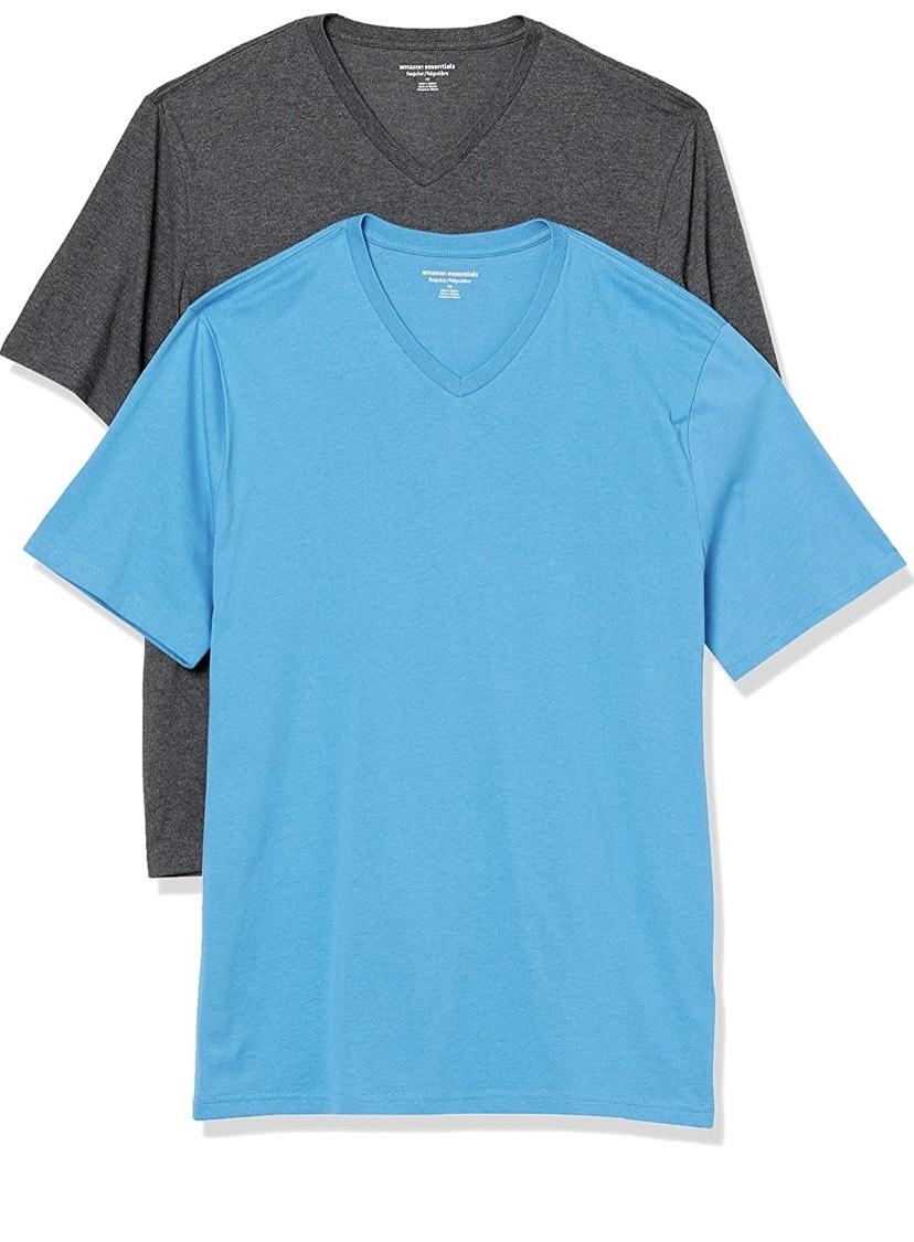 Pack de 2 camisetas 100% algodón
