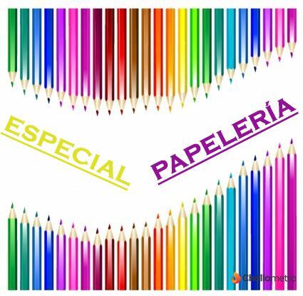 Especial Papelería (38 productos)