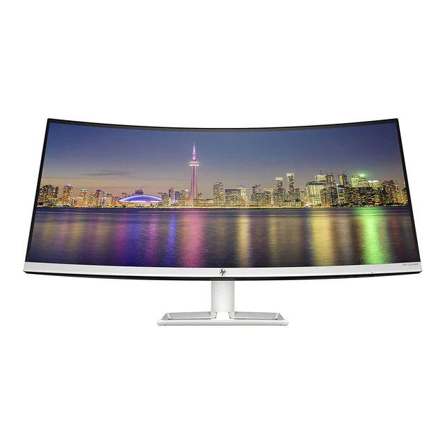 """Monitor PC curvo 86,3 cm (34"""") HP 34f, WQHD IPS, AMD FreeSync"""