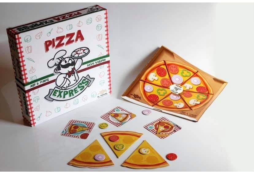 PIZZA EXPRESS juego de mesa