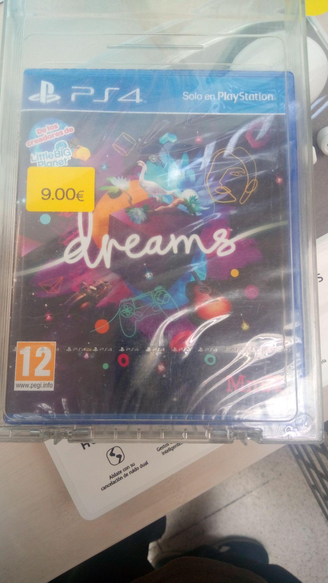 Dreams PS4. Carrefour Aluche