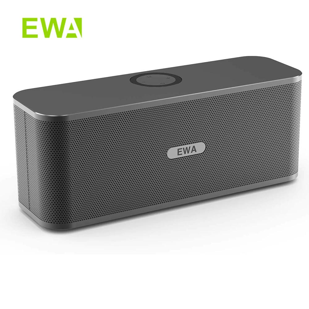 EWA-Altavoces W300 con Bluetooth, 2x6W, sonido estéreo