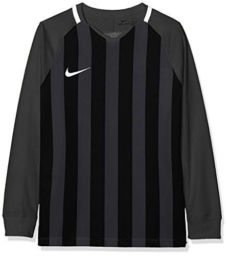 Camiseta Nike Negra Manga Larga Para Niños(Talla XS)