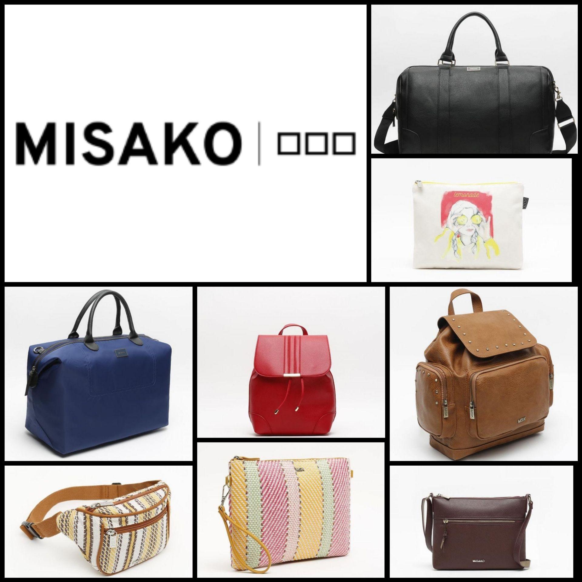 Súper Recopilación Misako (Mochilas, Bolsas de Viaje, Neceseres...)